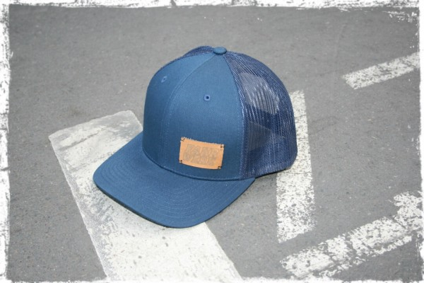 Retro_Truck_Cap_Rocca_FAHRWERK_navy blau_motorwear_automotive apparel